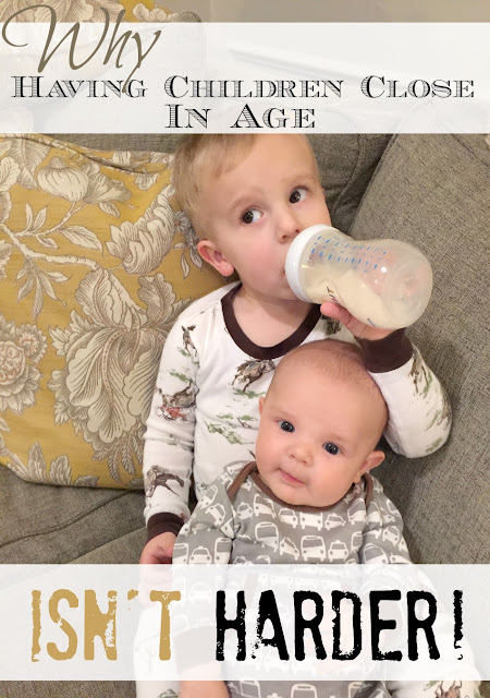 Think having children close together sounds challenging? It's NOT! Here's why