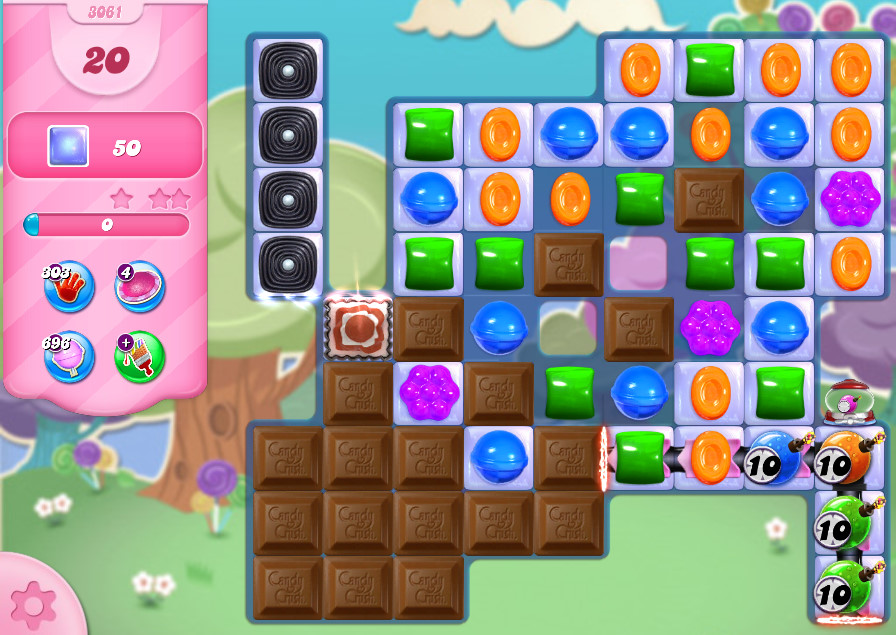 Candy Crush Saga level 3061