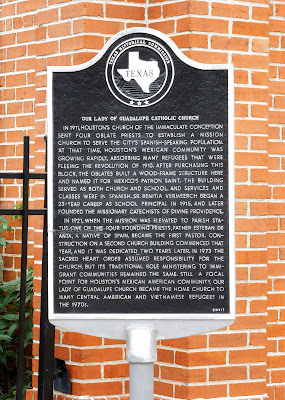 Texas Historical Commission Marker: Our Lady of Guadalupe Catholic Church