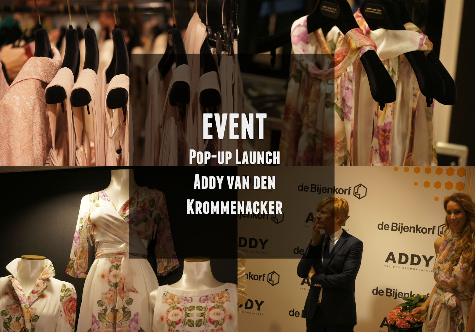 event addy van den krommenacker pop-up store launch