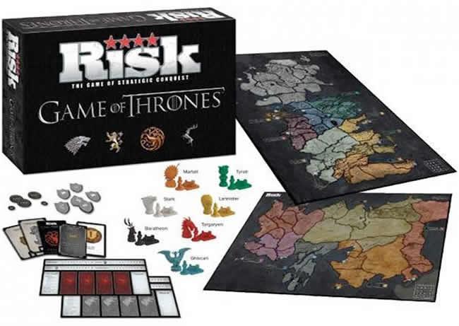Jogos de tabuleiro de Game of Thrones
