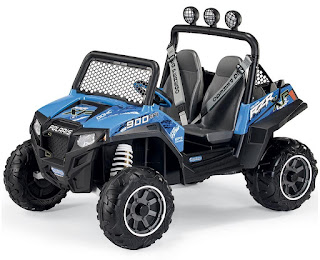 Blue Peg Perego Polaris Ranger RZR 900 12v Jeep for children age 3+, good price £399