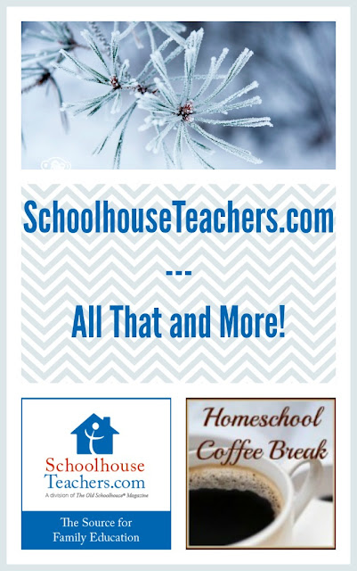 SchoolhouseTeachers.com - All That and More! on Homeschool Coffee Break @ kympossibleblog.blogspot.com