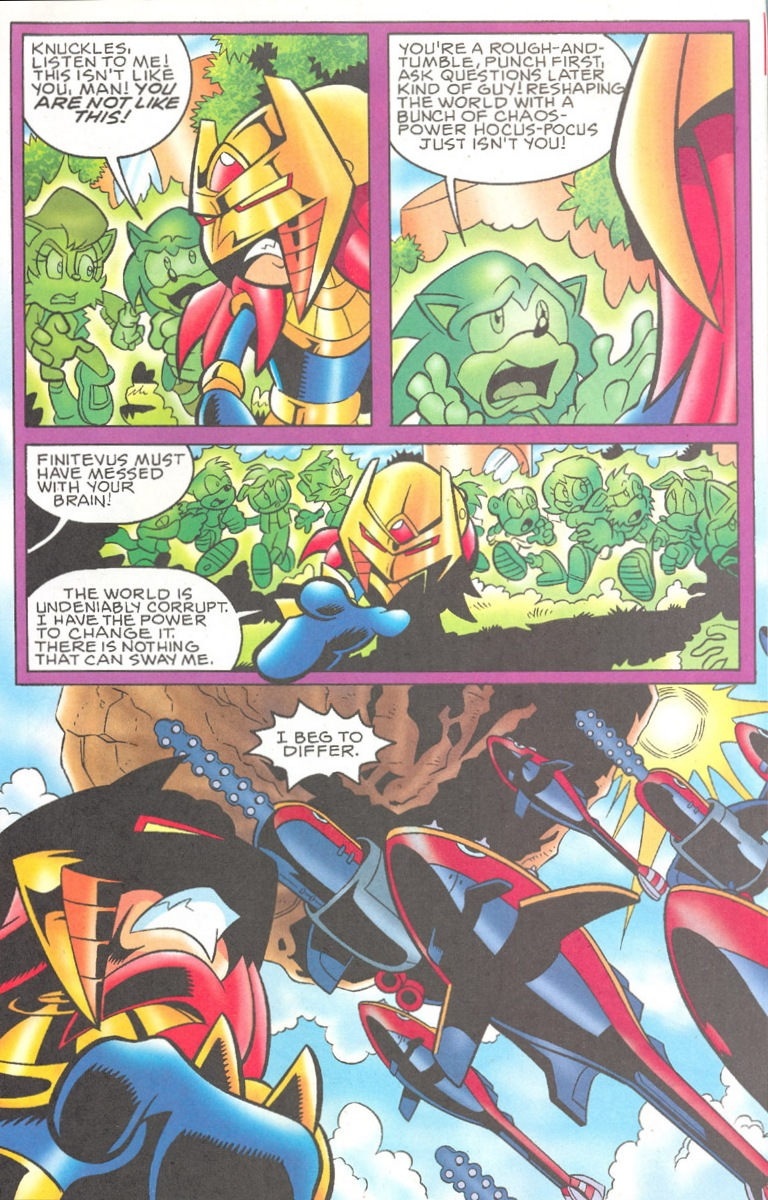 Read online Sonic The Hedgehog comic -  Issue #182 - 13