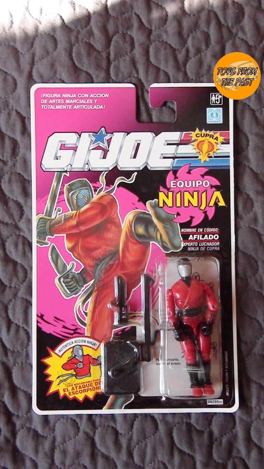 Toys from the Past: #196 G I  JOE - NINJA FORCE (1st WAVE) (II) (1992)