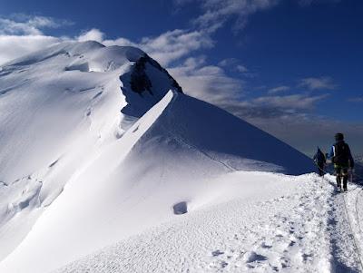 Droga papieska na Mont Blanc