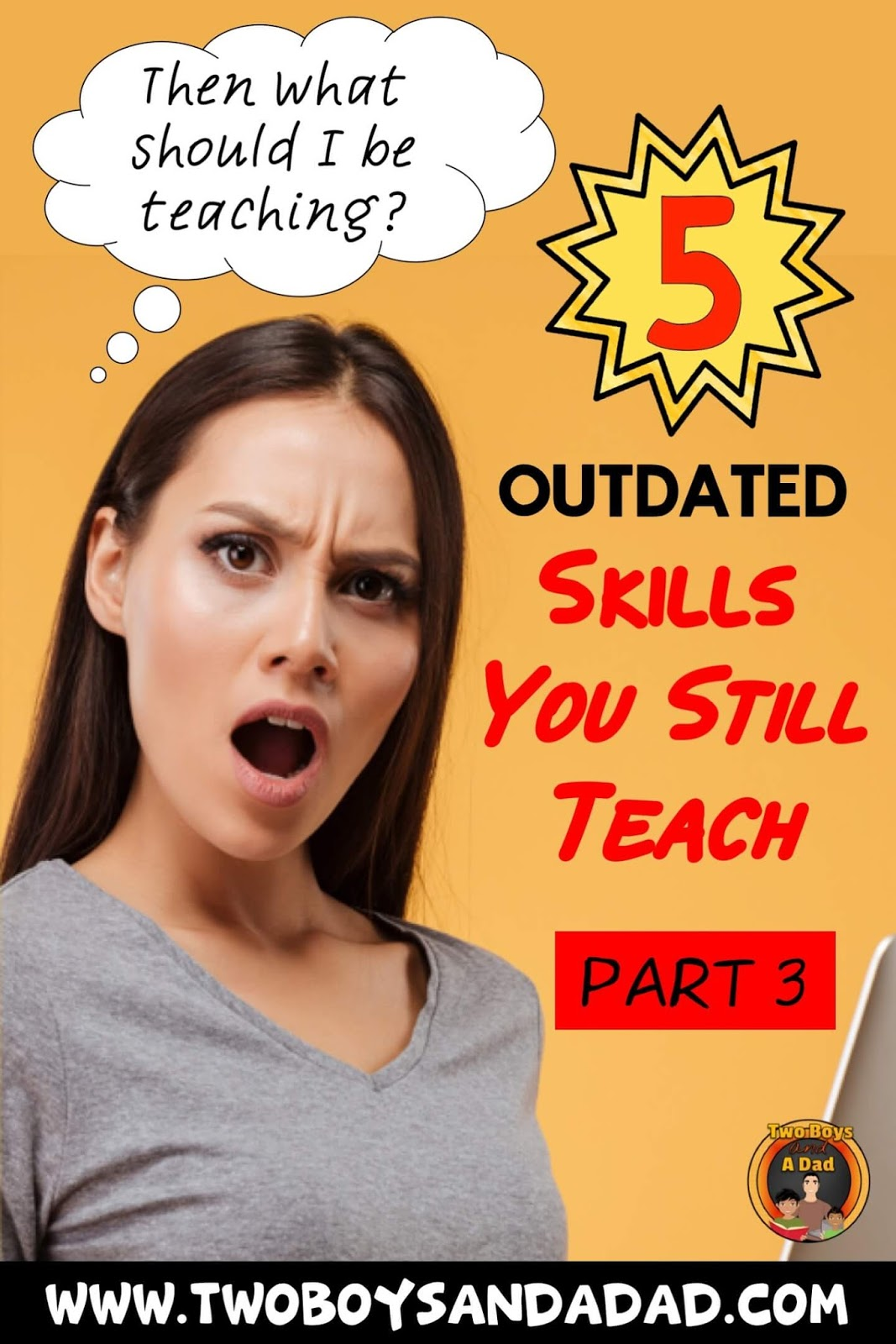 Are you teaching outdated skills?
