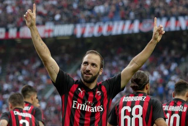 Pengalaman Higuain Bisa Bantu Pemain AC Milan
