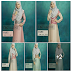 ADELIA DRESS vanilla red pink dusty green purple
