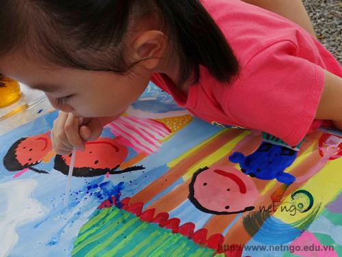 Lớp học mỹ thuật cho thiếu nhi tại quận Bình Thạnh TP HCM