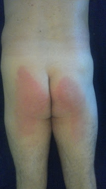 After my maintenance spanking!!!