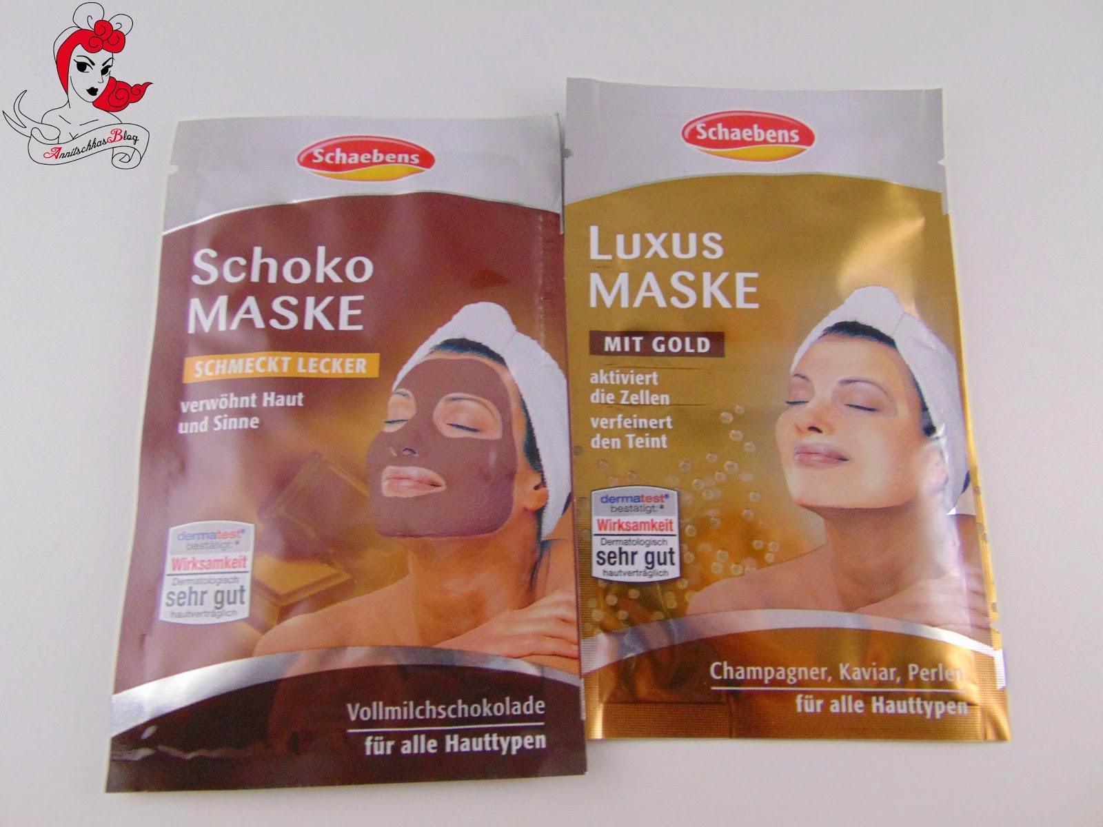 Schabens Schoko & Luxus Maske - www.annitschkasblog.de