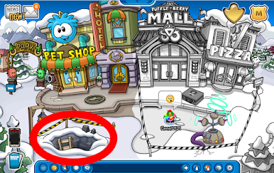Herbert Un-Colors Club Penguin! Underground Maze Cheats!