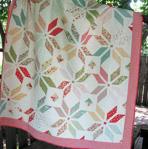 Summer Breeze Quilt designed by Melissa Corry for Modabakeshop