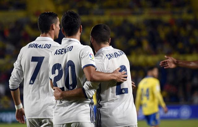 Real Madrid empata com o Las Palmas