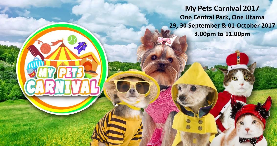 my pets carnival 2017 one central park 1 utama bandar utama