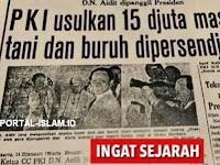 Sebelum Meletus G30S, PKI Usulkan 15 Djuta Massa Tani dan Buruh Dipersendjatai