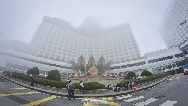 Misty and cool afternoon at Genting Highlands
