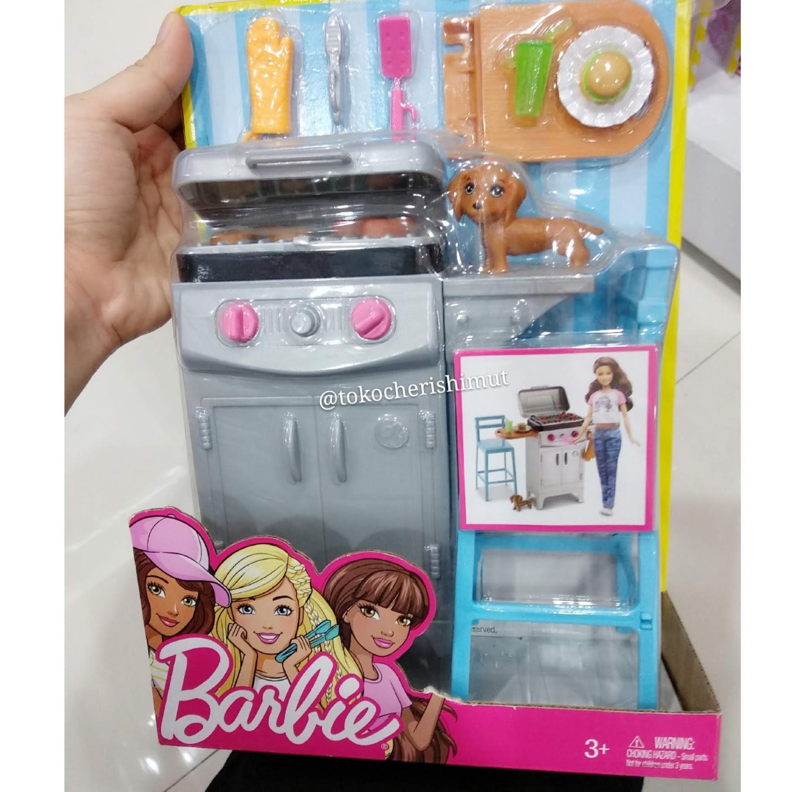 Furniture Barbie Untuk Masak Bbq Baberque Murah Grosir Ecer Toko Cherish Imut