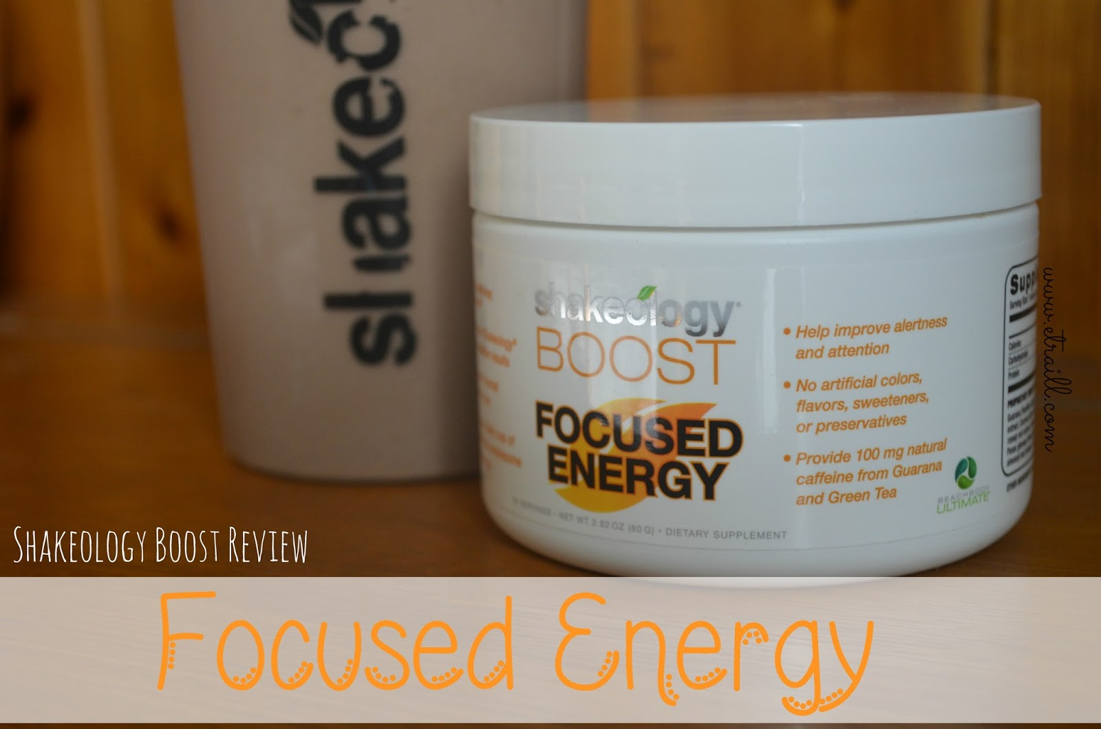 Stronger Than The Average Mom Shakeology Boost Focused