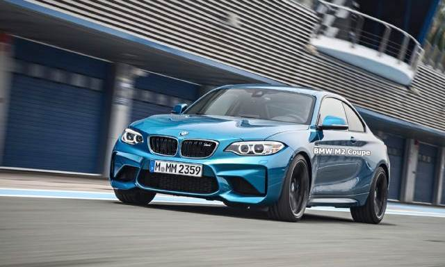2016 BMW M2 Coupe Review Exterior-3