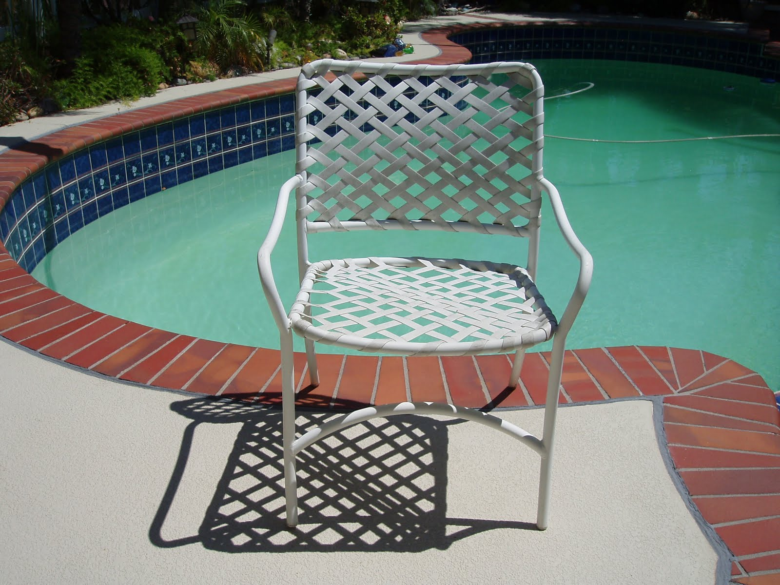 vinyl mesh fabric for sling chairs acrylic dining chair 949 830 2600 orange county outdoor patio furniture repair