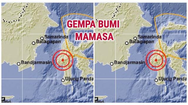 Mamasa Terus Diguncang Gempa Selama Satu Minggu, Ini Penjelasan BMKG!