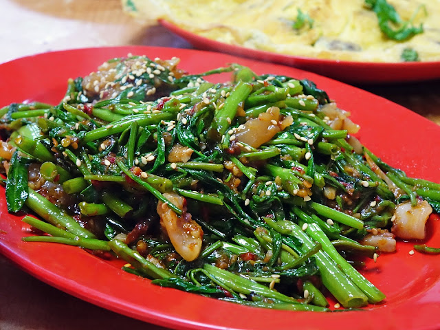Resep Cah Kangkung Cumi Saus Tiram ala Restoran Cina