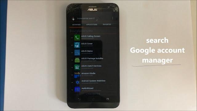 Tutorial Bypass FRP Lock Asus Zenfone GO X014D dengan Mudah - 5