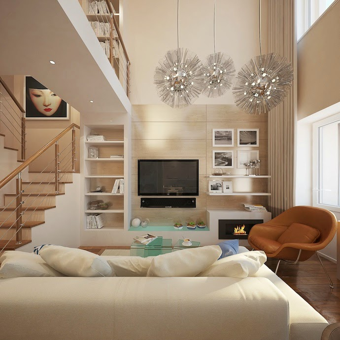 creative small living room design ideas colors and lighting