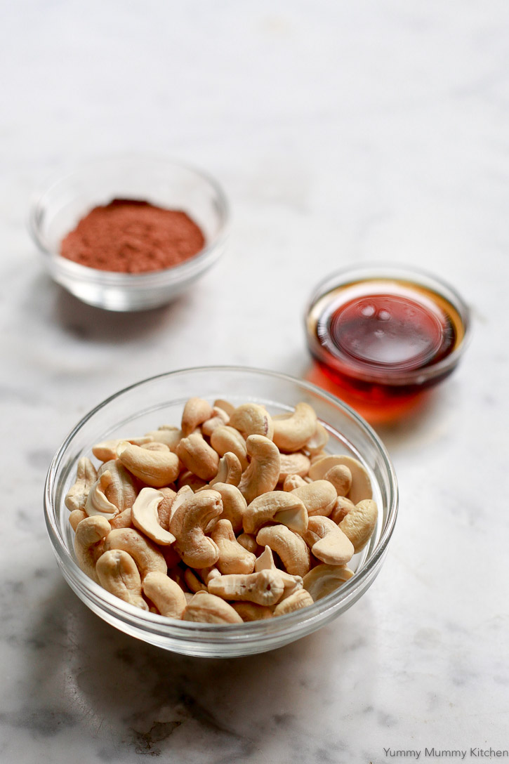 Find out how to make creamy coffee or hot chocolate with cashews!