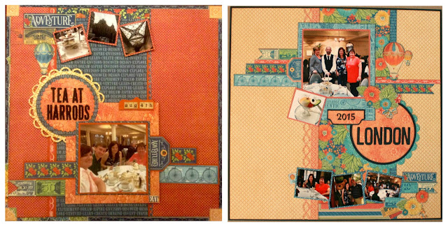Worlds Fair Double page Layout Clare Charvill So Much Scrap Graphic 45