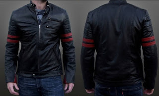 Gambar Men Leather Jacket
