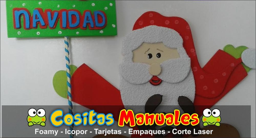 Papa noel decoraciones navide as lili daza dise o - Papa noel decoracion navidena ...