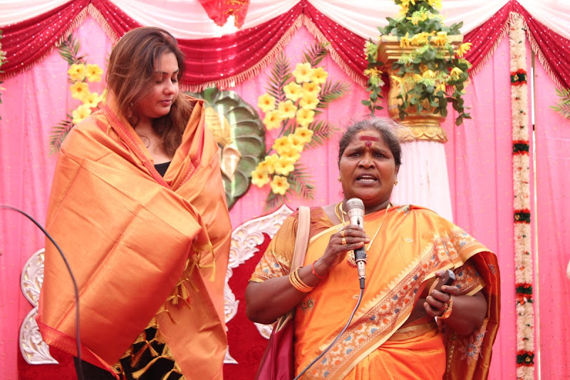 Namitha at JS Paradise Family Marriage Hall Launch Stills unseen pics