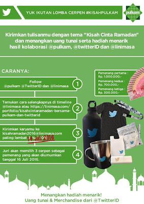 #KisahPulkam Lomba Cerpen Kisah Cinta Ramadan