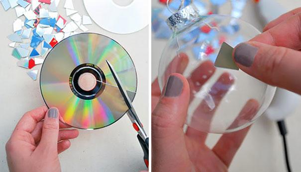 10 tác phẩm ngạc nhiên từ chiếc đĩa CD cũ.