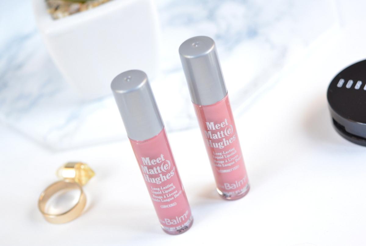 The Balm Meet Matt(e) Hughes Liquid Lipsticks
