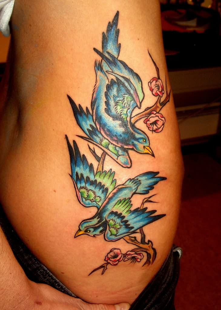 Sparrow Tattoos Ideas: Sparrow Bird Tattoos For Girls