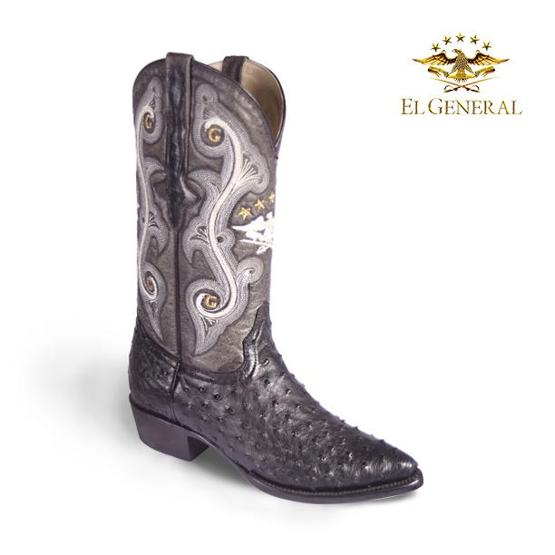 a791e9155a El General Western Wear  Cuidado y Mantenimiento a las botas de piel de  avestruz.