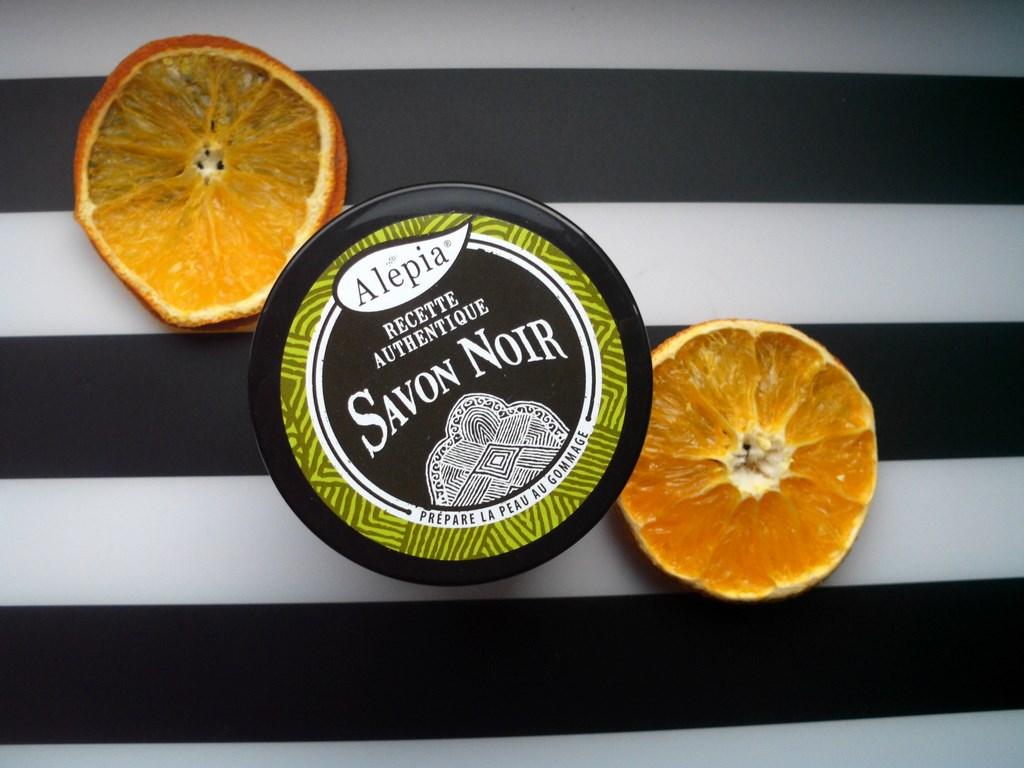 ALEPIA Savon Noir Supreme czarne mydło peelingujące