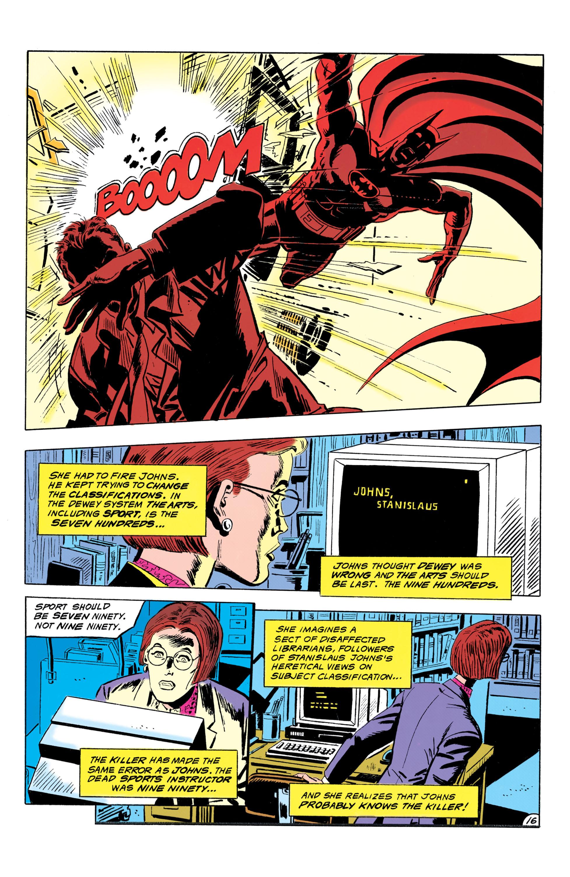 Detective Comics (1937) 643 Page 16