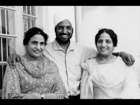 Deedar Singh Pardesi Punjabi Folk Singer With Surinder Kaur HD Wallpaper Photo Images