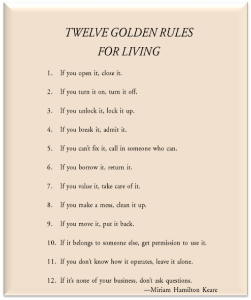 dale carnegie 10 rules of dating