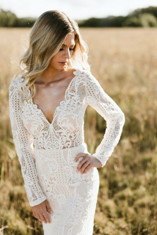 Q+A: LACE BOHEMIAN CHIC BRIDAL GOWNS   GODDESS BY NATURE BRISBANE QLD
