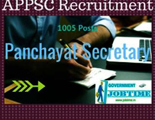 Panchayat Secretary AP