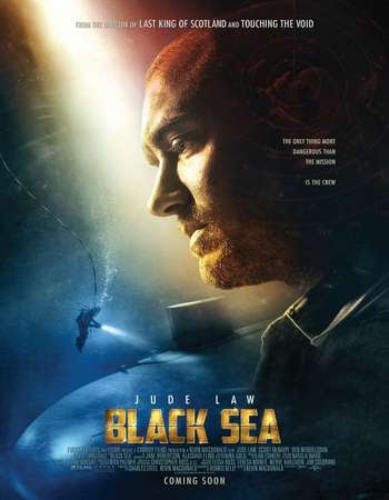 Poster Of Black Sea 2014 In Hindi Bluray 720P Free Download