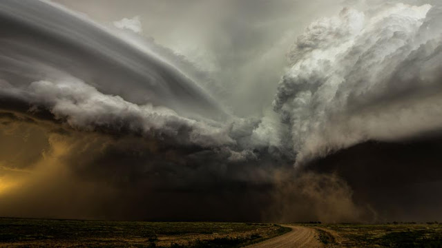 """Clash of the Storms,"" second-place winner in the 16 and over category."