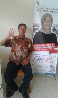 Ketua Ranting PDIP Ini Balik Arah