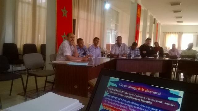 يوم تكويني تحت عنوان : شرح الغايات المتوخاة من الرؤية الإستراتيجية  للإصلاح  2015-2030 بالريصاني